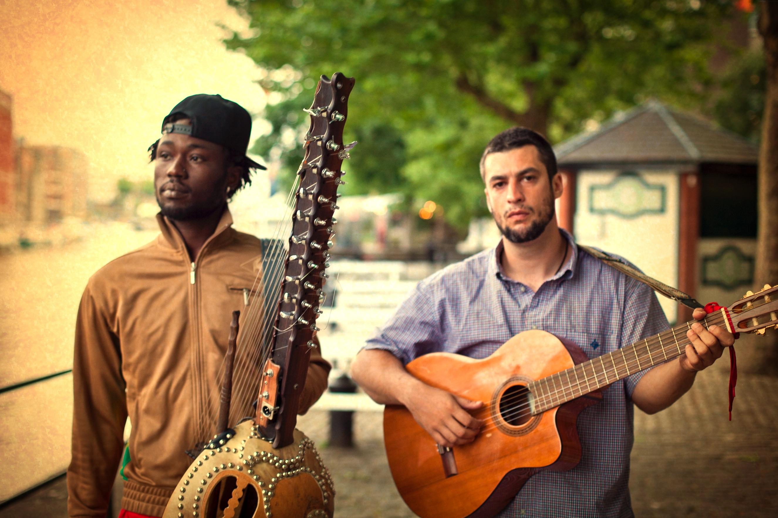 Sekou Kouyate & Joe Driscoll (photo: Alex Munro)