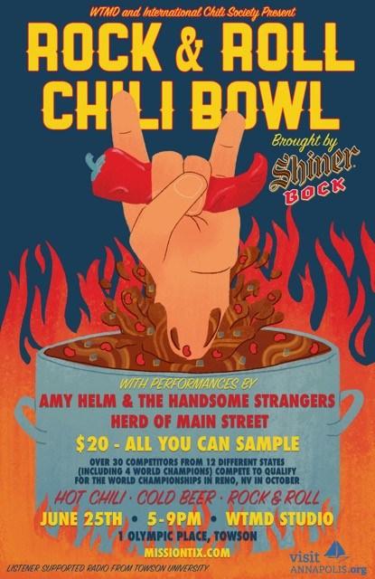 Rock & Roll Chili Bowl