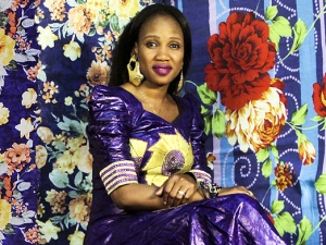 Rokia Koné of Les Amazones d'Afrique