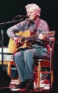 Doc Watson (photo by Randy Austin-Cardona/Dirty Linen)