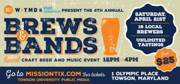 WTMD's Brews & Bands