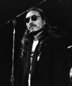 John Trudell (photo by Gloria M. Rosson/Dirty Linen)