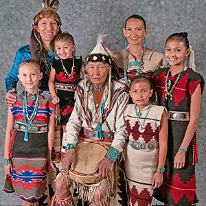 Jones Benally Family Dancers